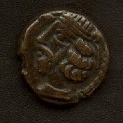 AE Dracma de Partia, Sanabares (50-56 DC) San2-o