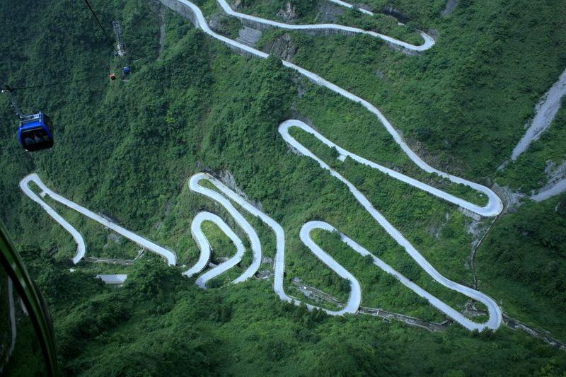 Zanimljivi putevi, staze, ceste Tianmen-mountain-national-forest-park-844905
