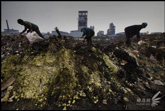 """Bộ ảnh """"Tình trạng ô nhiễm môi trường"""" tại Trung Quốc 20091020luguang02"""