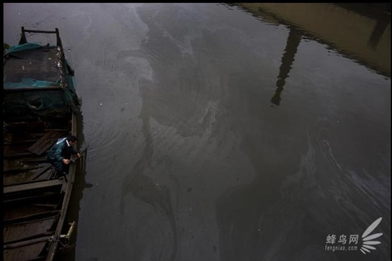 """Bộ ảnh """"Tình trạng ô nhiễm môi trường"""" tại Trung Quốc 20091020luguang04"""