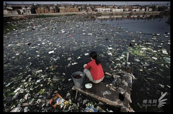 """Bộ ảnh """"Tình trạng ô nhiễm môi trường"""" tại Trung Quốc 20091020luguang06"""
