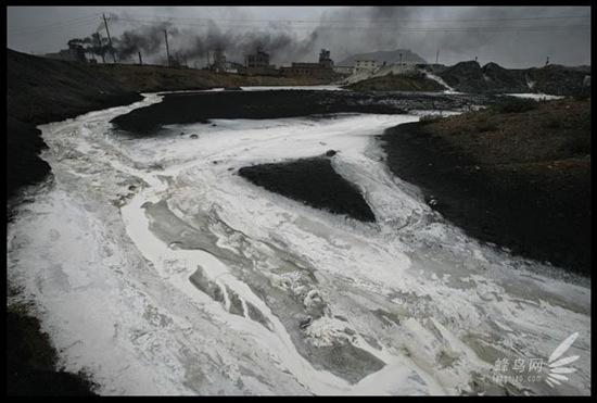 """Bộ ảnh """"Tình trạng ô nhiễm môi trường"""" tại Trung Quốc 20091020luguang13"""