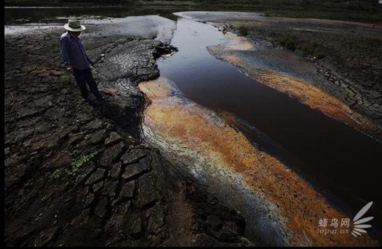 """Bộ ảnh """"Tình trạng ô nhiễm môi trường"""" tại Trung Quốc 20091020luguang20"""