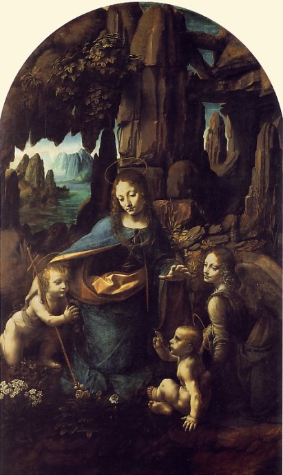 Leonardo di ser Pietro da Vinci Leonardo_da_Vinci_The_Virgin_of_the_Rocks