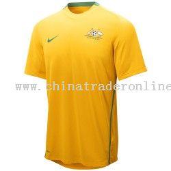 اطقم المنتخبات  المشاركة بنهائيات كأس العالم Australia-gold-world-cup-soccer-dri-fit-jersey-0854389987