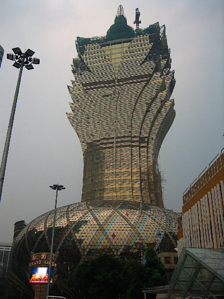 Ouverture du plus grand casino du monde à Macao - Le Venetian Macao-le-lisboa_1229274758