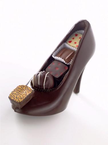 Chocolate Art 01shoe