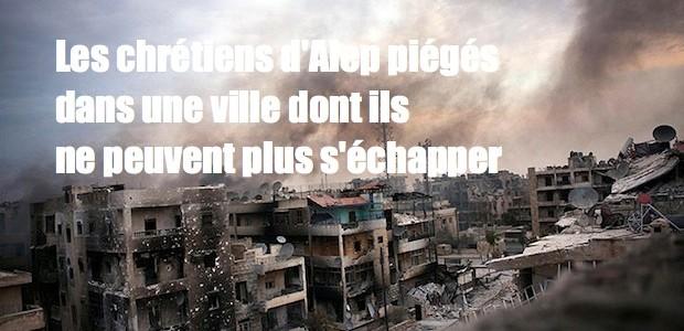 Syrie: désespérés les chrétiens lancent un  SOS. Alep-ruines-620x300