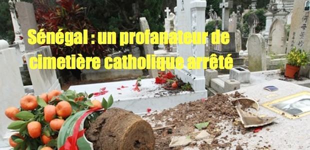 Sénégal: profanateur de cimetière catholique arrêté HKcemetary-620x300