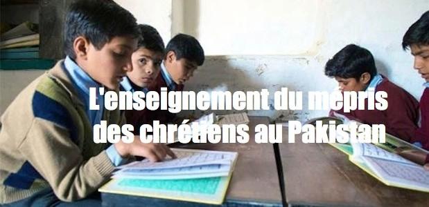 Pakistan: manuels scolaires incitent à la haine Image_large-619x300