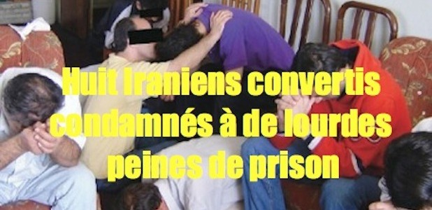 Chrétiens condamnés pour avoir étés convertis . Iranundergroundchurchcp1-618x300