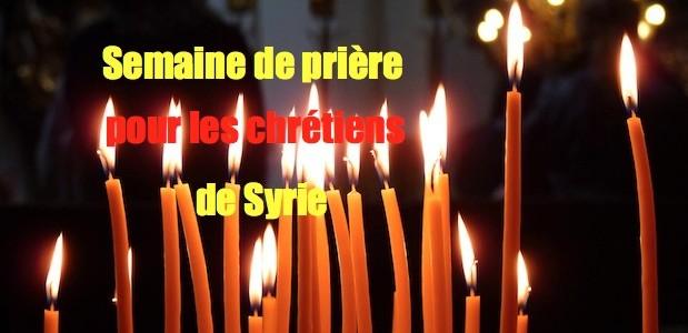 Semaine de prières pour la paix en Syrie Candles_in_the_church-619x300