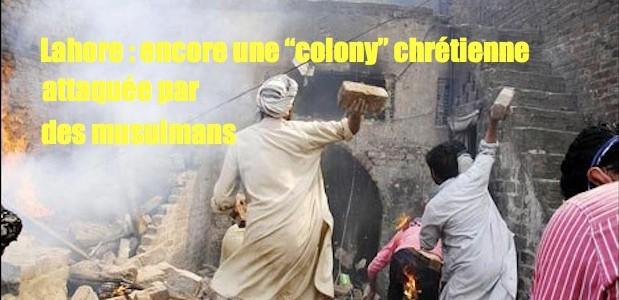 Chrétiens attaqués par les musulmans. Mobpk-619x300