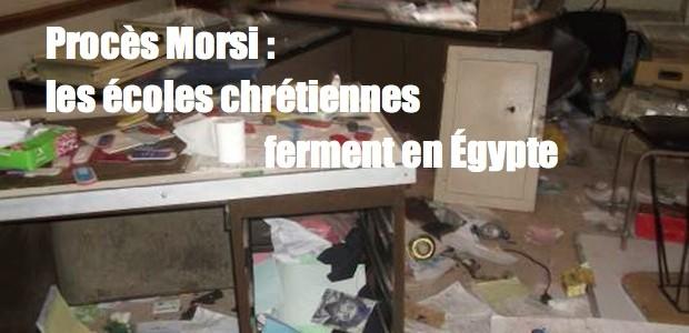 Procès de Morsi, les écoles chrétiennes ferment leurs portes EGITTO-F-0829-Minya-5-620x300