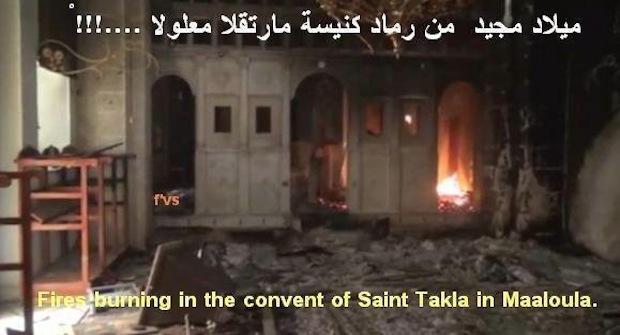 Maaluola: image de dévastations islamistes 1512730_1406927179548007_730739261_n-copie-2