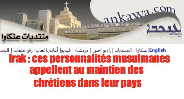 Irak: enfin, des musulmans qui comprennent Ankawa