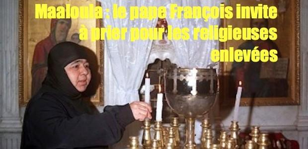 Religieuses enlevés par les islamistes Syrian-nuns-of-maalaula-620x300