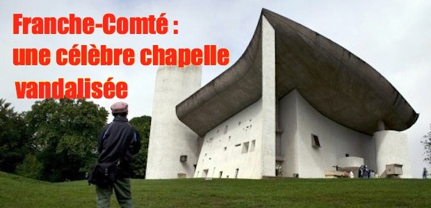 Chapelle Notre-Dame du Haut vandalisée 7768947127_la-chapelle-notre-dame-du-haut-dessinee-par-l-architecte-le-corbusier-le-9-septembre-2011-620x300