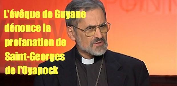 Profanation en Guyane: l'évêque réagit Emmanue-Lafont-620x300