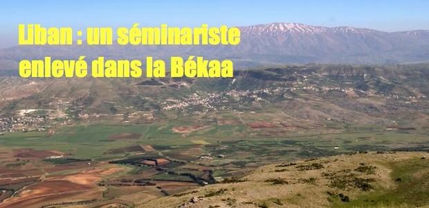 Liban: jeune séminariste kidnappé par des syriens Plaine-Bekaa-620x300