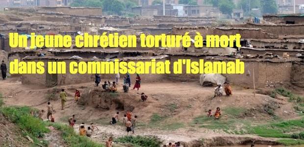 Un chrétien torturé à mort dans un commissariat d'Islamabad   595227-islamabadslumrainqaziusman-1377462969-675-640x480-620x300