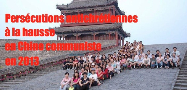 Chine communiste: les persécutions contre les chrétiens en hausse Chine-perse%CC%81cutions-620x300
