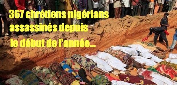 Nigéria: depuis mai 205 chrétiens tués Nigeria-620x300