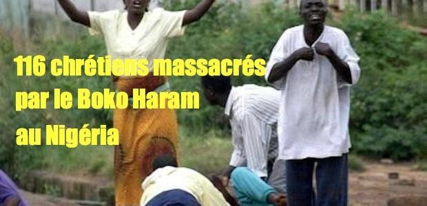 Nigéria: 106 villageois chrétiens massacrés Nigeriachristians-620x300