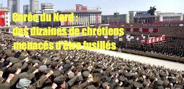 Corée de nord: des dizaines de chrétiens menacés d'être fusillée North-Korean-Army-005-620x300