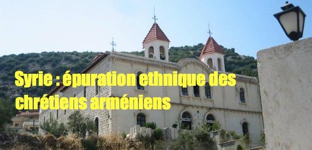 arméniensSyrie: épuration ethnique des chrétiens Kassab-1