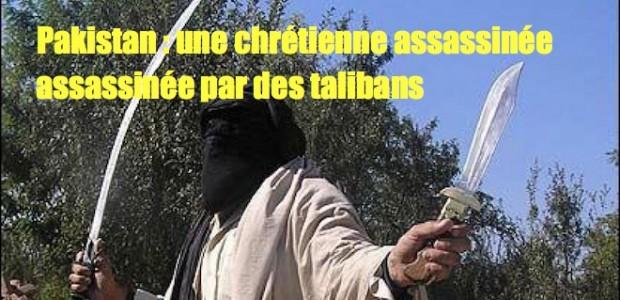Pakistan: jeune chrétienne assassinée par des talibans Un-taliban-pakistanais-620x300