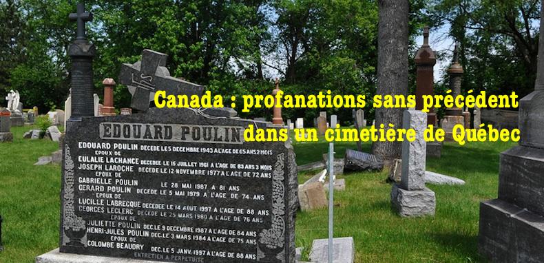 Le respect dû aux morts se perd au Québec et ailleurs dans le monde... 2quebec-cimetiere-saint-charles