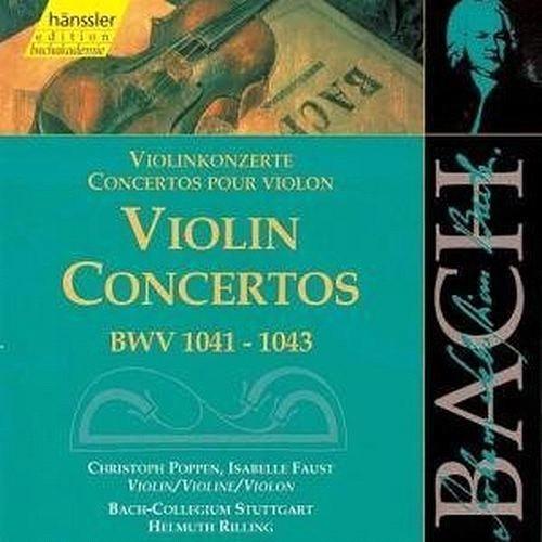 Bach: concertos pour violon(s) CD29