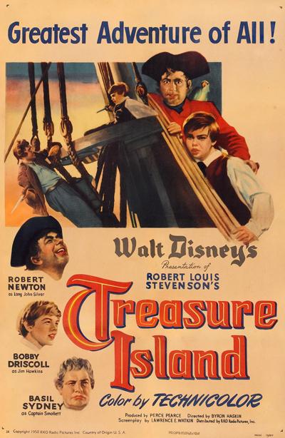 L'Île au Trésor [Disney - 1950] 1950-ile-1
