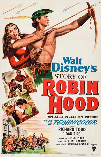 Robin des Bois et ses Joyeux Compagnons [Disney - 1952] 1952-robinbois-1