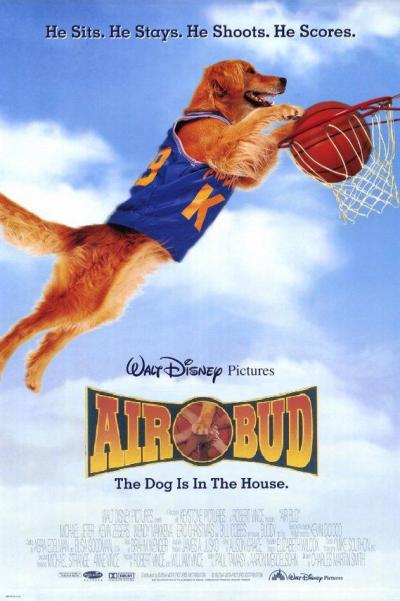 """[Disney] La Saga """"Air Bud"""" (2 films + 12 suites vidéos de 1997 à 2012) 1997-airbud-1"""
