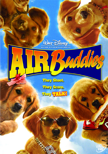 "[Disney] La Saga ""Air Bud"" (2 films + 12 suites vidéos de 1997 à 2012) 2006-airbuddies-1"
