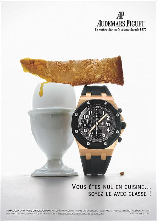 Publicité Audemars Piguet AP-1