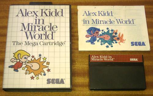 Notice d'Alex Kidd In Miracle World 246b