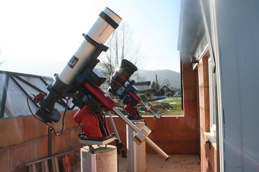 Nouvel Observatoire a Vagney, photos de la construction - Page 3 Vagney100