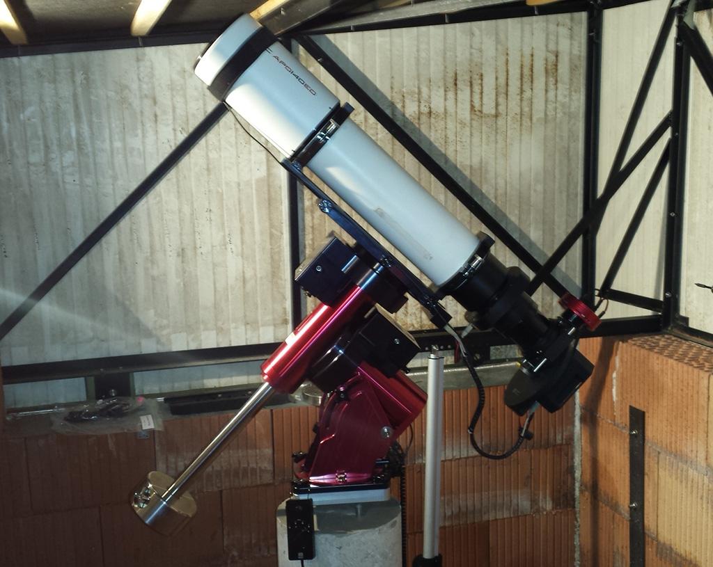 Nouvel Observatoire a Vagney, photos de la construction - Page 3 Vagney86
