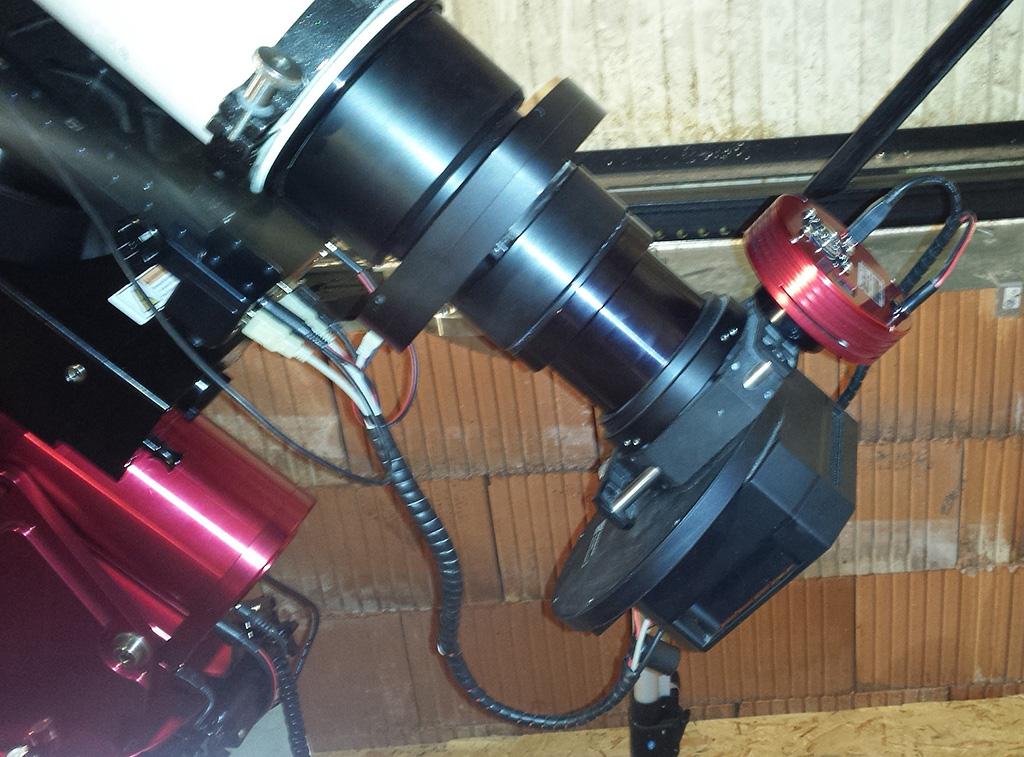 Nouvel Observatoire a Vagney, photos de la construction - Page 3 Vagney87