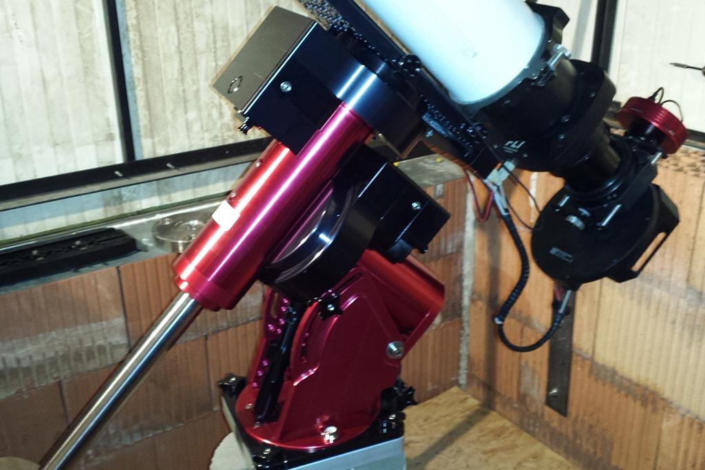 Nouvel Observatoire a Vagney, photos de la construction - Page 3 Vagney88