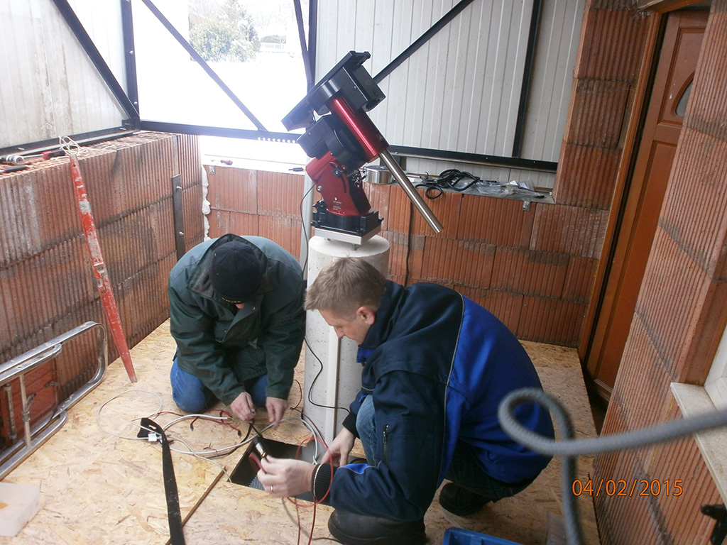 Nouvel Observatoire a Vagney, photos de la construction - Page 3 Vagney90