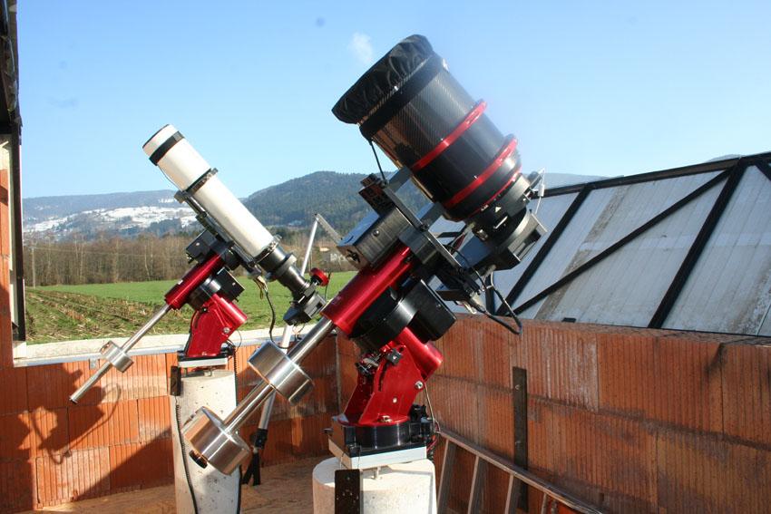 Nouvel Observatoire a Vagney, photos de la construction - Page 3 Vagney97