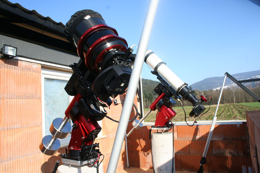 Nouvel Observatoire a Vagney, photos de la construction - Page 3 Vagney99