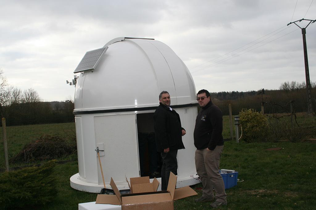 Nouvel Observatoire a Vagney, photos de la construction - Page 3 Bach66