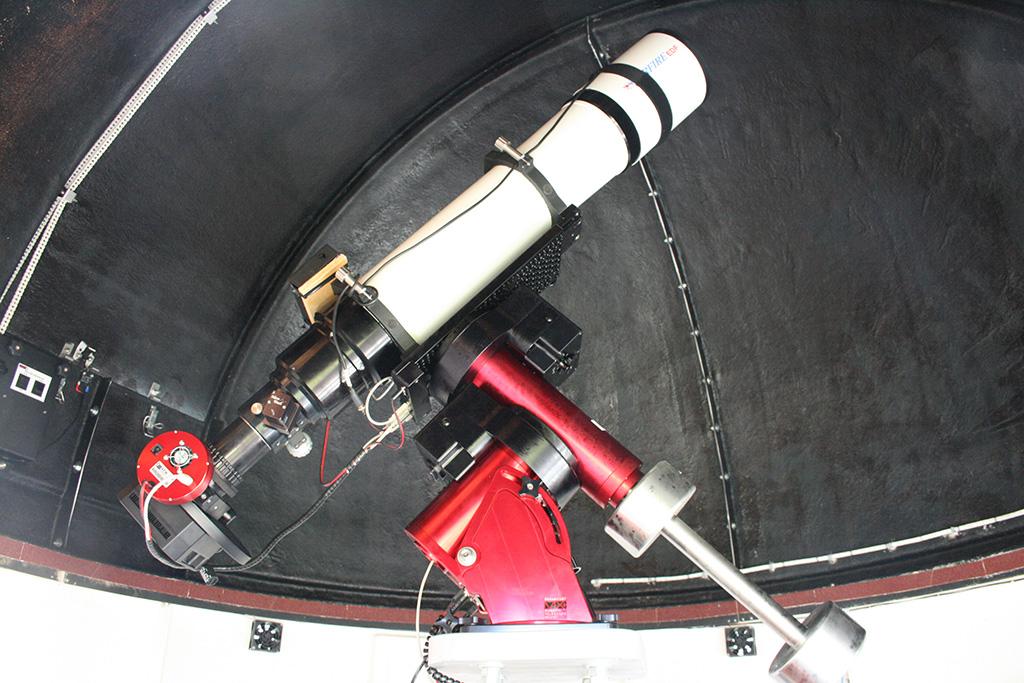 Nouvel Observatoire a Vagney, photos de la construction - Page 3 Bach73