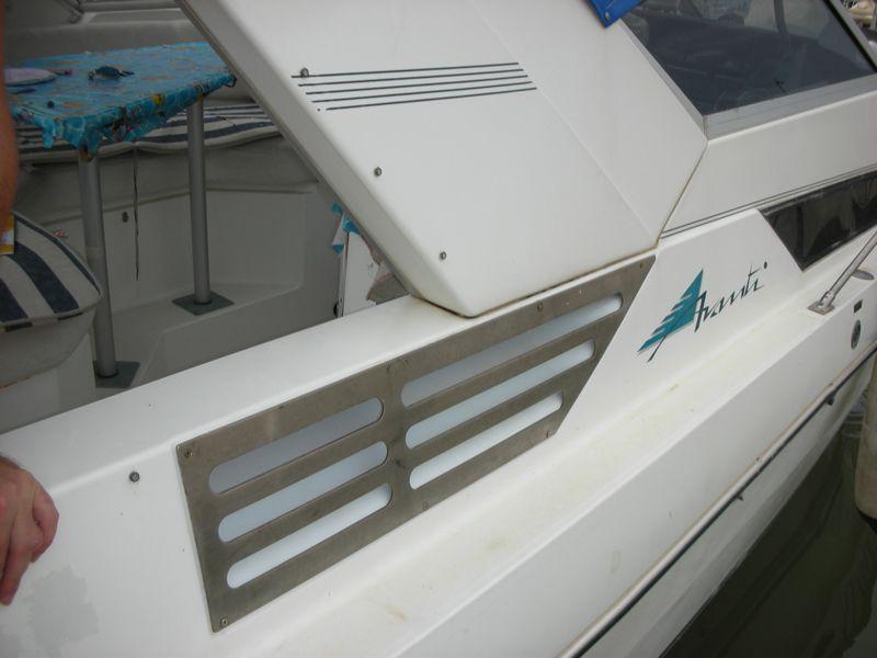 Prese d'aria per il motore vie di accesso all'acqua DSCN1639p
