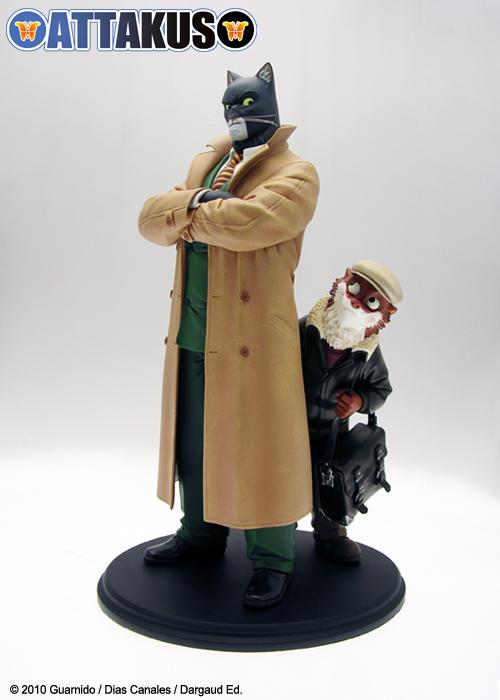 Votre lettre au Père Noël - Page 3 Statue-john-blacksad-weekly-attakus